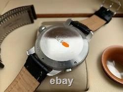 Très Rare Glashutte Original Senator Navigator Flyback Seconds Watch Full Set