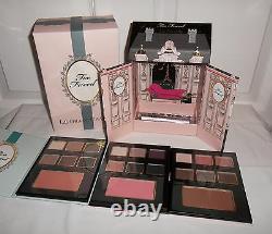 Trop Confronté Le Grand Chateau Maquillage Visage Palette Cadeau De Vacances Set Eyeshadow Blush