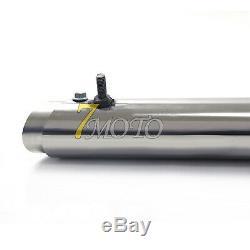 Tubes D'échappement De Silencieux Système Complet Fit Yamaha V Étoiles 650 Xvs650 Dragstar650 / 400