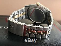 Tudor 76213 Rolex Prince Date Diamond Day Dial 35mm Hommes D'or Ensemble Complet Nouvelle Montre