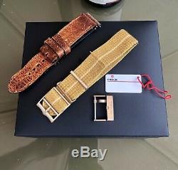 Tudor 79250bm Bronze 2018 Black Bay 43mm Automatique Hommes Ensemble Complet 3 Sangles Montre