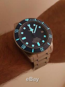 Tudor Pelagos 25600tb Bleu W-95820t Titanium Montre Homme 2019 Modèle Full Set