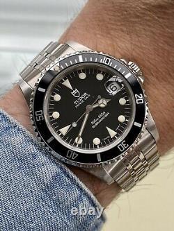 Tudor Sous-mariner Prince Date Ensemble Complet 75190 Rolex Vintage 1997 Papiers Montres Box