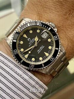 Tudor Sub Submariner Prince Date Full Set Rolex Vintage 1993 Papiers Watch Box