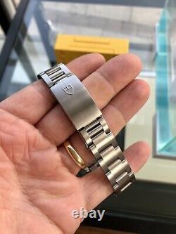 Tudor Tiger Full Set Chronograph White Dial Mens 79260 Steel Box Papers Montre