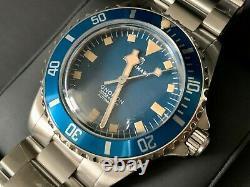 Very Rare New Steinhart Ocean 39 Marine Blue Limited Edition Watch En Full Set