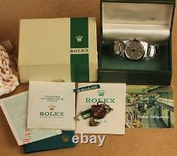 Vintage Rolex Milgauss Ref. 1019 Ca. 1970, Full Set Original Papiers, 2,5m Série